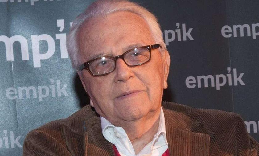 Andrzej Łapicki połamał się