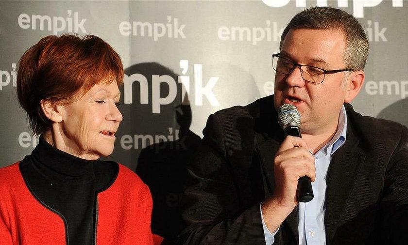 Maria Czubaszek i Artur Andrus byli przyjaciółmi w pracy i w życiu