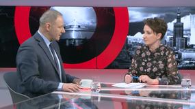 Gościem Agnieszki Burzyńskiej w programie Fakt Opinie był Jacek Protasiewicz
