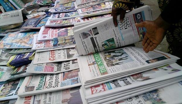 nigerian-newspapers representing print journalism