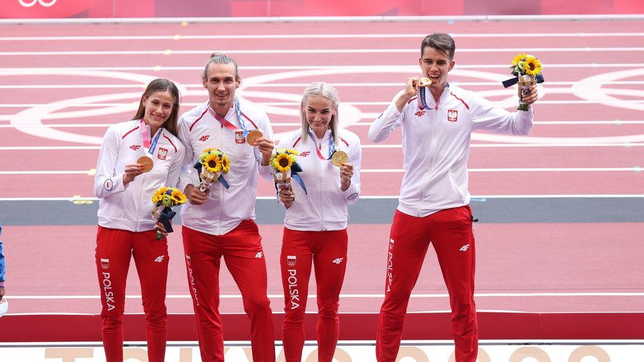 Na razie tylko czworo polskich zawodników otrzymało złote medale IO w Tokio