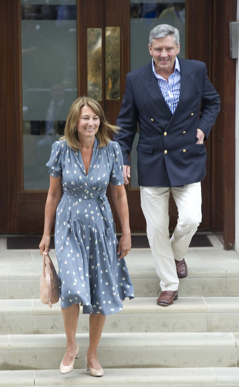 Michael Middleton i Carole Middleton