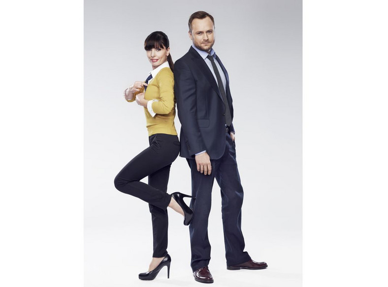 Leszek Lichota i Agnieszka Dygant