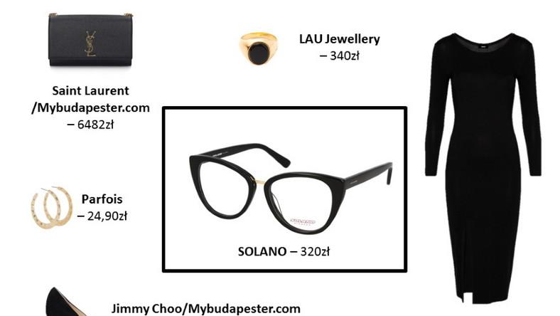 NA WIECZÓR Eleganckie oprawy okularowe to kwintesencja szyku i dobrego wyglądu. W wieczornym wydaniu świetnie sprawdzą się w połączeniu z klasyczną małą czarną, szpilkami na wysokim obcasie i złotą biżuterią. Prosto, ale efektownie!