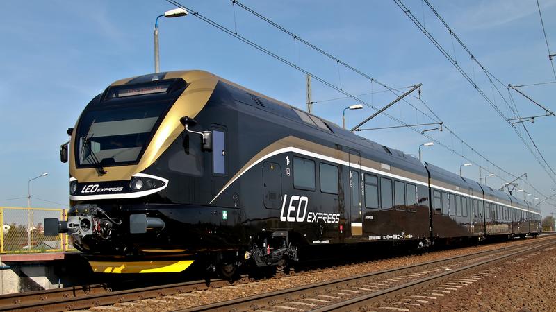 Pociąg Leo Express