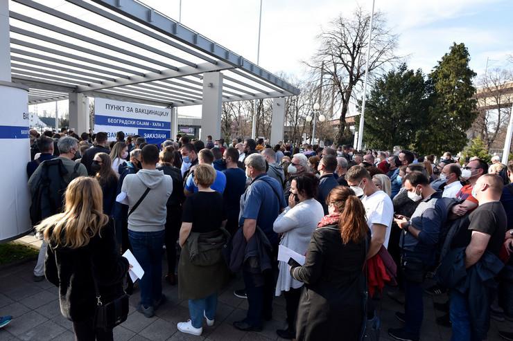 Vakcinacija za strance Beograd