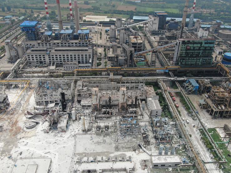 Kina eksplozija EPA STRINGER