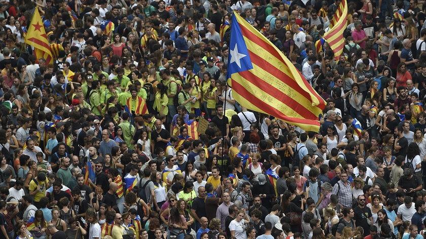 Demonstracje w Katalonii
