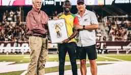 Benjamin Azamati: Ghanaian Olympian honoured by West Texas University