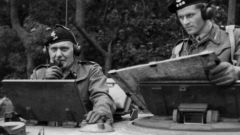 gen. Maczek (z lewej)