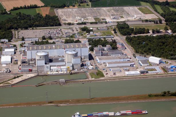 Elektrownia atomowa w Fessenheim we Francji
