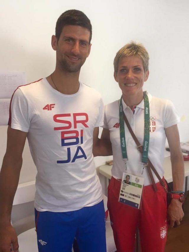 Novak Đoković i Olivera Jevtić