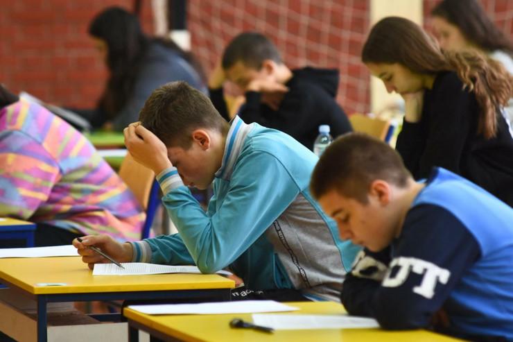 U toku pripreme za najvažniji ispit svakog osmaka