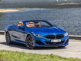 """BMW M850i xDrive Cabrio – lato wjechało """"na grubo"""""""