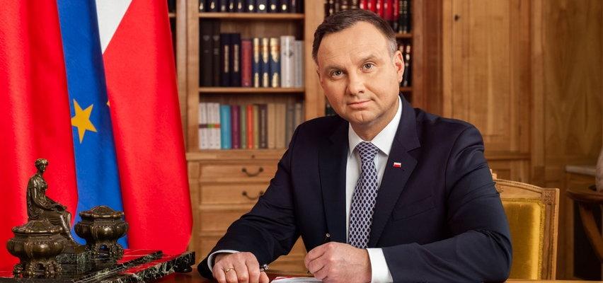 """Prezydent Andrzej Duda o szczepieniu. """"Kto się nie szczepi, świadomie decyduje się na testowanie"""""""