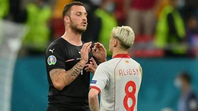 Austria defend Arnautovic following one-game Euro 2020 ban