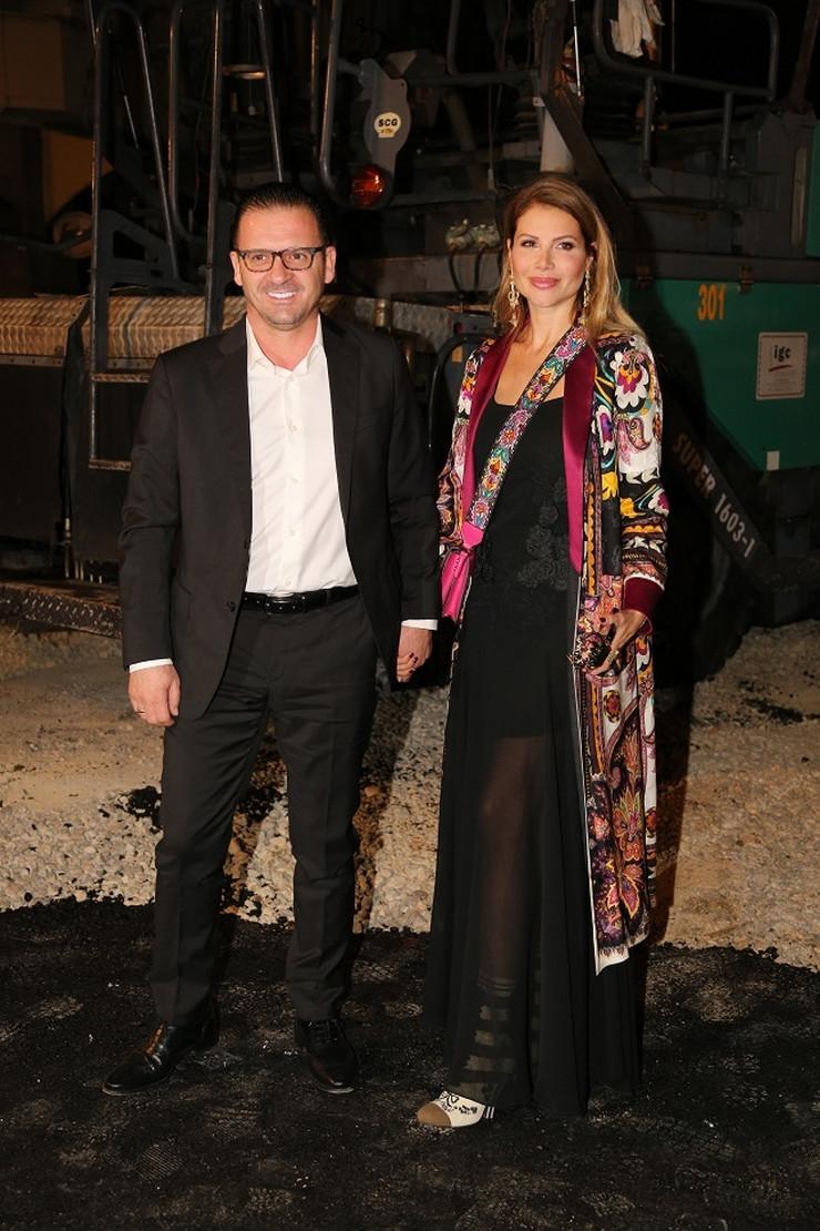 Peđa Mijatović i supruga