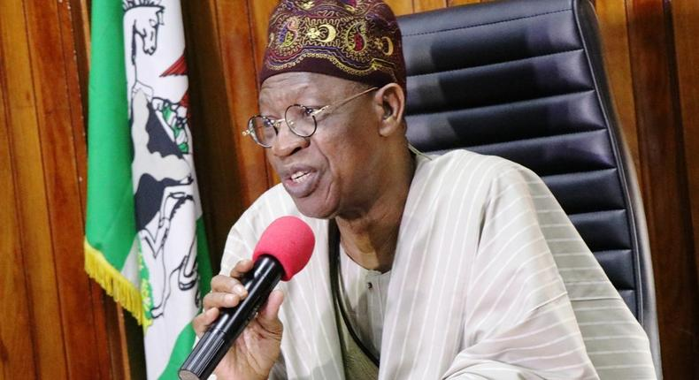 Minister of Information and Culture, Lai Mohammed [Twitter]