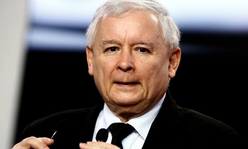 Kaczyński gani polityków PiS w Jachrance