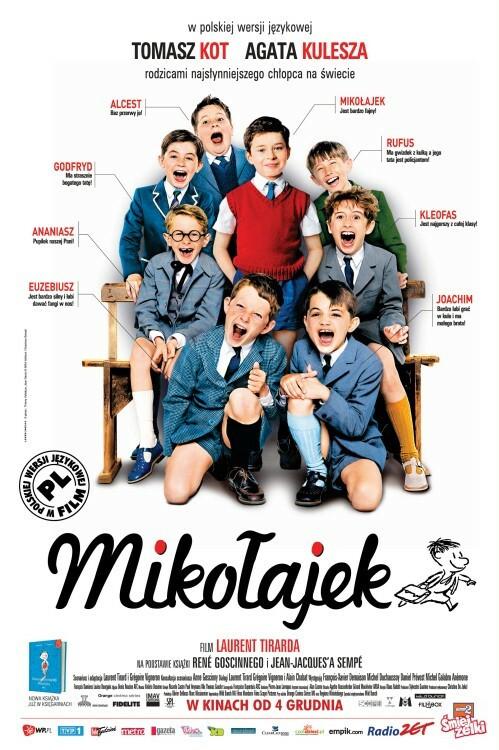 "Plakat filmu ""Mikołajek"""