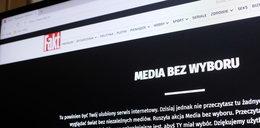 """Skąd protest Faktu, Onetu, TVN, Polsatu, RMF FM i te czarne plansze? To strajk """"Media bez wyboru"""". Jakby zamknięto redakcje..."""