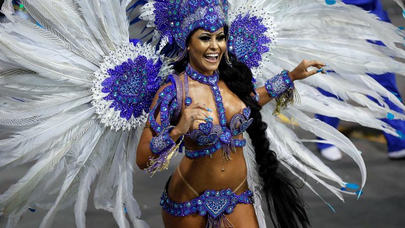 epa06510638 - BRAZIL CARNIVAL (Carnival in Sao Paulo 2018)