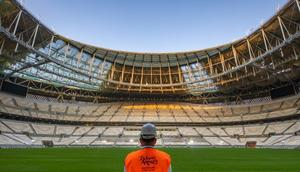 Lusail Stadium the 80,000-capacity venue that will host the World Cup final in December 2022 Creator: -