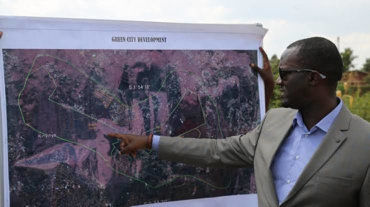 Green City will be located on 620 hectares in Kinyinya, Gasabo District, Kigali City.