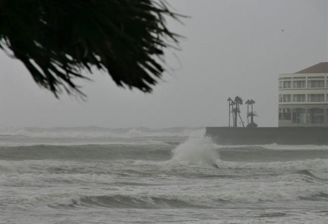 Tajfun pogodio Japan - Mijazaki