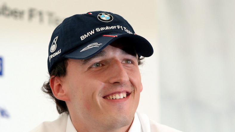 Kubica ulubionym kierowcą Formuły 1