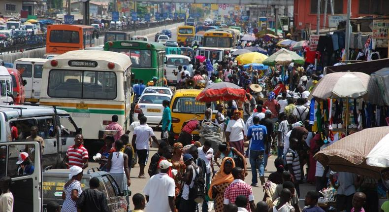 Ghanaian street [Qwenu!]