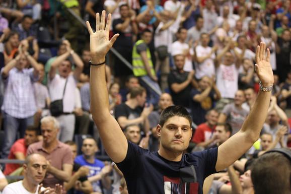 Nikola Vučević na beogradskom