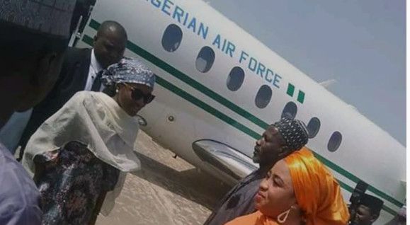 Buhari's daughter, Hanan was on Thursday, January 9, 2020, allowed to use a presidential jet for her trip to Bauchi state. (Punch)