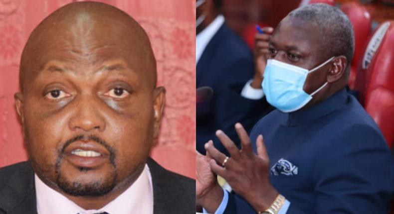 This is politics not law - Moses Kuria to Otiende Amollo after ODM removed him from JLAC