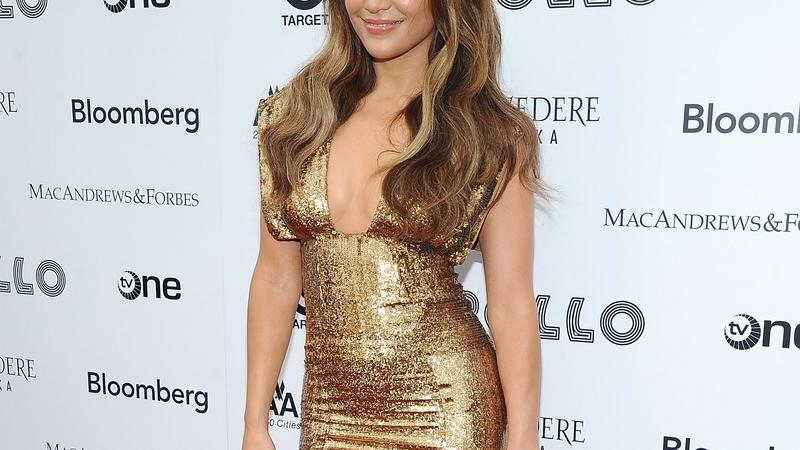 Jennifer Lopez podczas Apollo Theater Spring Benefit Concert & Awards Ceremony