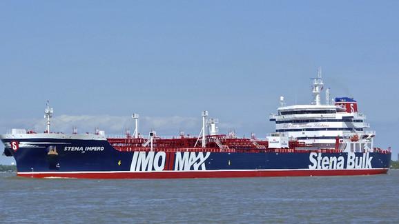 Britanski brod koji je zaplenio Iran