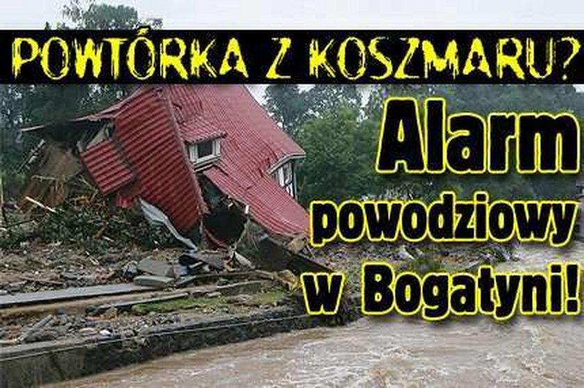Powtórka z koszmaru? Alarm powodziowy w Bogatyni!