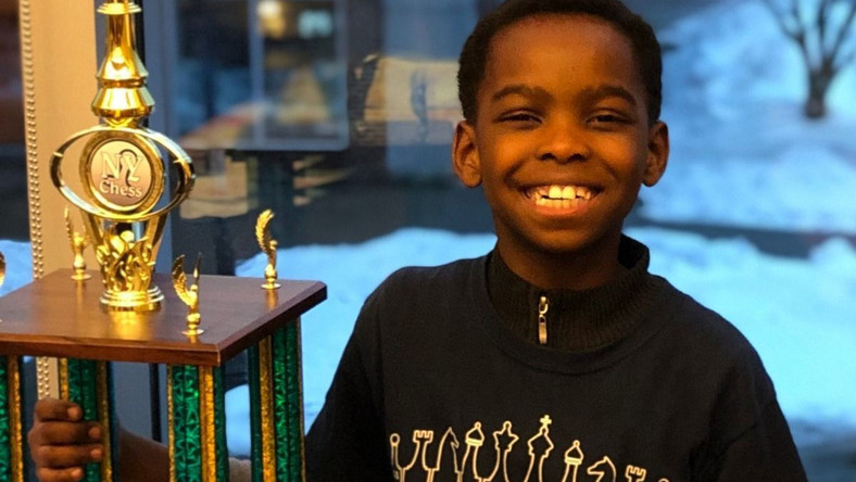 Nigerian kid chess star, Tanitoluwa Adewumi's story has been adapted for a film by Paramount Pictures. [essence.com]
