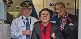 Tokarczuk wylądowała w Polsce. Tak powitano ją na lotnisku!