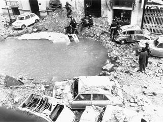 Bomb Torn Streets After Luis Carrero Blanco Assassination