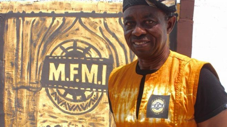 Tunde Kelani at the Mainframe Film and Media Institute