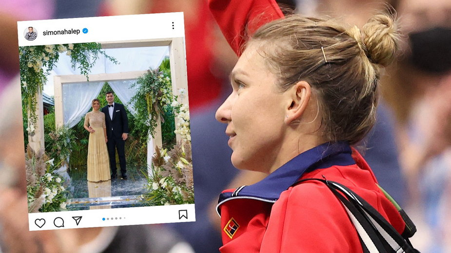 Simona Halep wzięła ślub