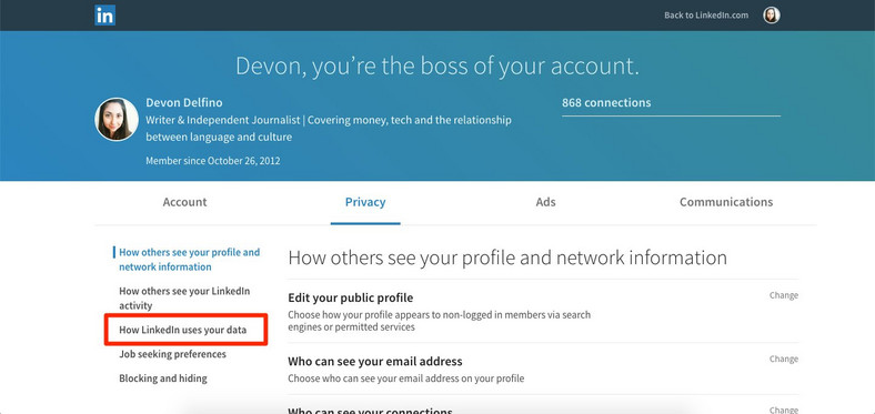 How to export your LinkedIn contacts and download the rest