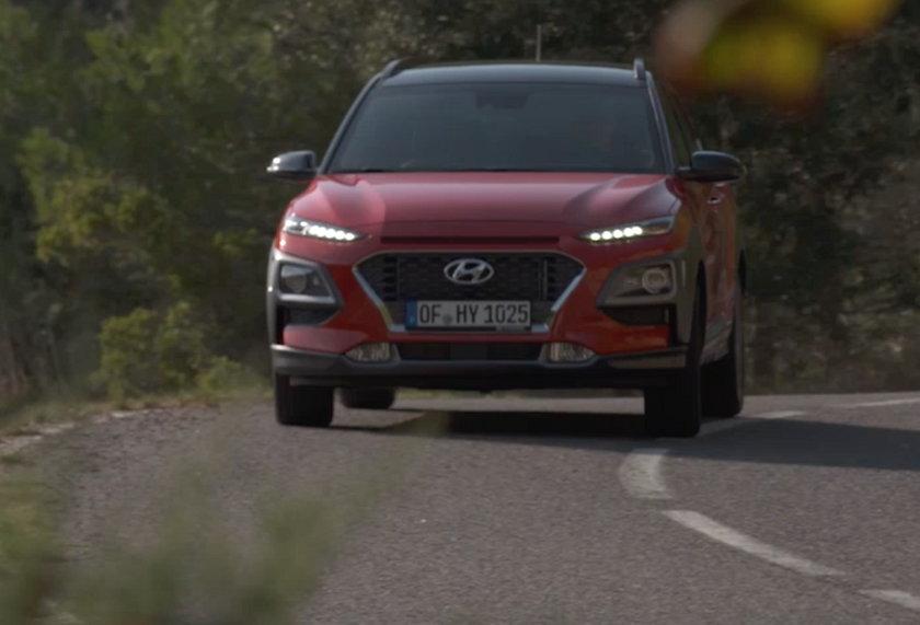 Hyundai Kona test