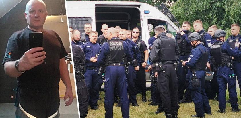 Jacek Jaworek wodzi wszystkich za nos? Podejrzany o zabójstwo w Borowcach może kpić sobie z policji w internecie