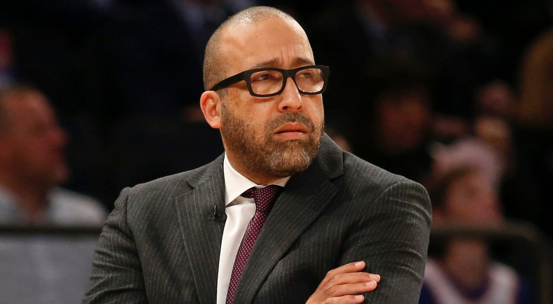 Ex-Knicks coach David Fizdale had to sit quietly and awkwardly during an ESPN segment because of his contract with the team