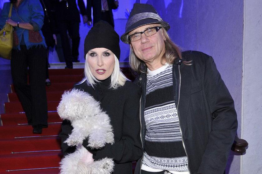 Kamil Sipowicz z żoną
