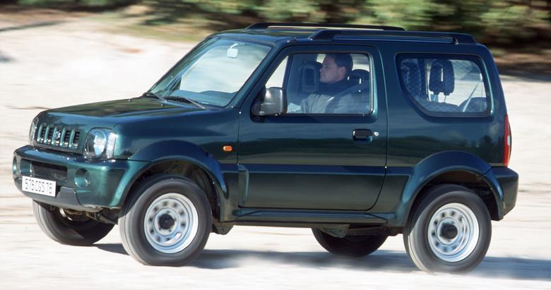 Małe Suzuki (tylko 3d) występuje z nadwoziem zamkniętym lub otwartym.
