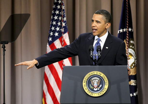 Prezydent USA Barack Obama dał wyraz, choć nie wprost, swemu rozczarowaniu orędziem egipskiego przywódcy. Fot. Bloomberg