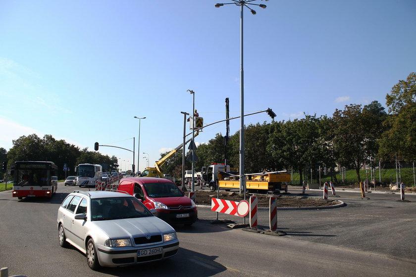 Remont na ul. Okopowej w Gdańsku